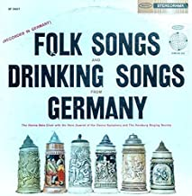 Folk Songs and Drinking Songs From Germany
