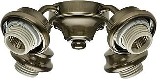 Casablanca 99032 Four Light Arm Fitter, Antique Brass