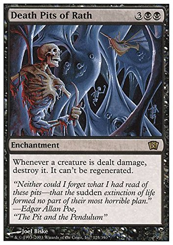 Magic The Gathering  Death Pits of Rath  Eighth Edition