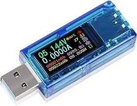 Varadyle USB 3.0 Tester Multimeter 3.7-30V 0-4A USB Voltage Tester USB Digital Current and Voltage Tester Meter Voltmeter