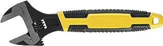 Stanley MaxSteel steeksleutel (verstelbaar, 33 mm x 250 mm lengte, chroom-vanadium staal, hoek kop) 0-90-949