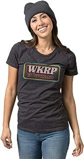 WKRP TV Show Logo T-Shirt   Vintage Cincinnati Apparel   Pop Culture Tee