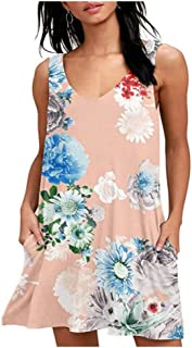Women'S Mid-Length Dress Summer Beach Dress Dress