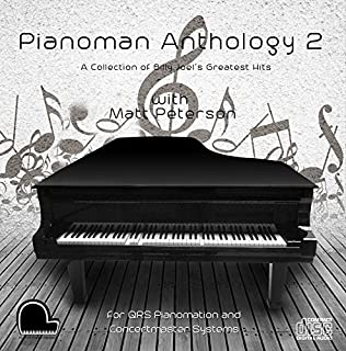 Piano Man Anthology 2 - Billy Joel Collection - QRS Pianomation and Baldwin Concertmaster Compatible Player Piano MP3's on...