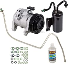 AC Compressor & A/C Repair Kit For Dodge Ram 5.7L Hemi V8 2003 2004 2005 2006 2007 2008 - BuyAutoParts 60-80307RK New