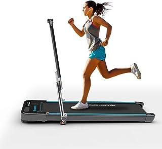 comprar comparacion Cinta de Correr Caminar Plegable con Apoyabrazos y Control Remoto Controlables, Altavoz Bluetooth Incorporado, Velocidad 1...