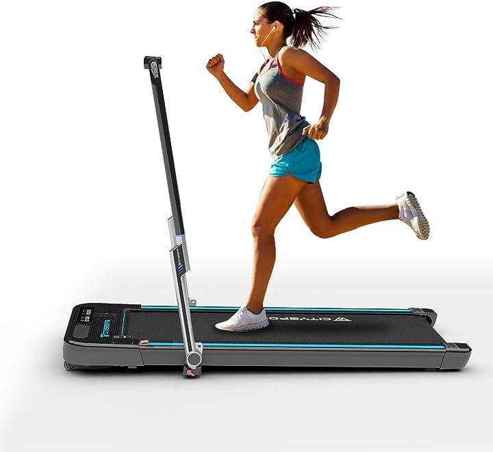 Tapis roulant pieghevole ,braccioli controllabili e telecomando, altoparlante bluetooth incorporato citysports CS-WP3