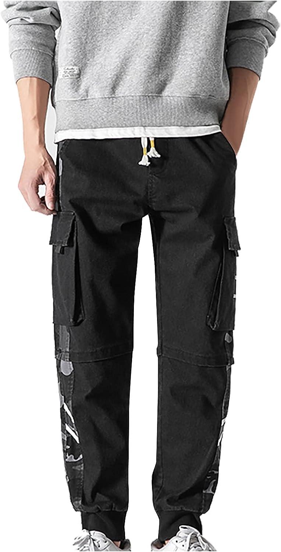 Zainafacai Men's Cheap mail order Max 71% OFF shopping Cargo Pants Quick Dry Tactical Drawstring
