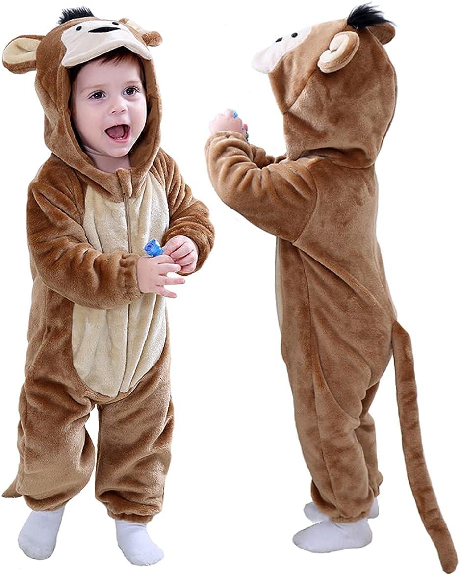 TONWHAR Baby Boy's Girl's Animal Ranking TOP4 Bodysuit Romper Infant Jumpsuit Max 51% OFF