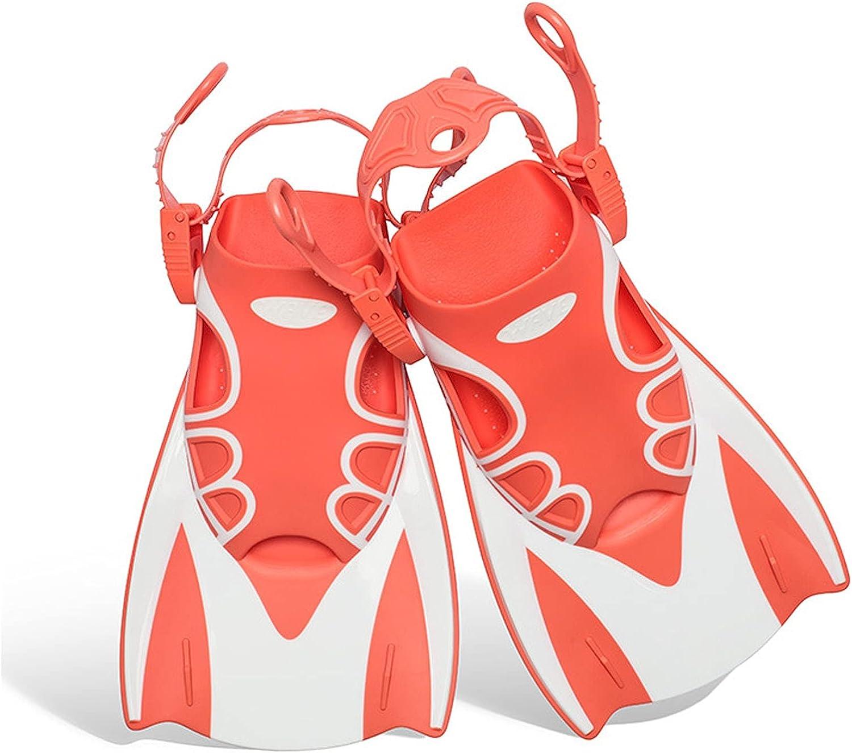 1 PairSilicone Snorkel DivingUniversal Full Foot Short Fins Scub