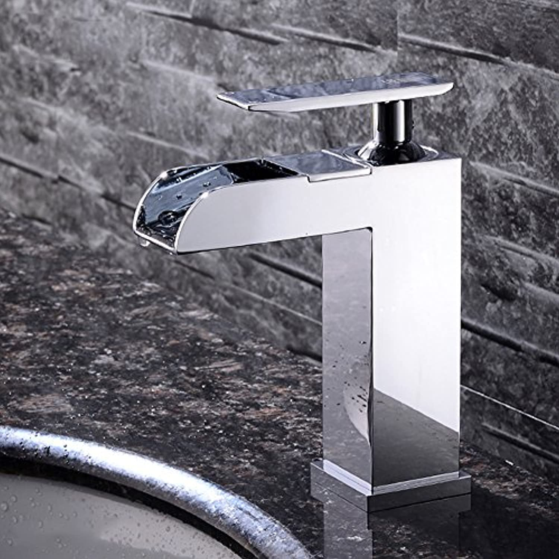 Alle Kupfer fllt Waschbecken Dusche mit heiem und kaltem Wasser