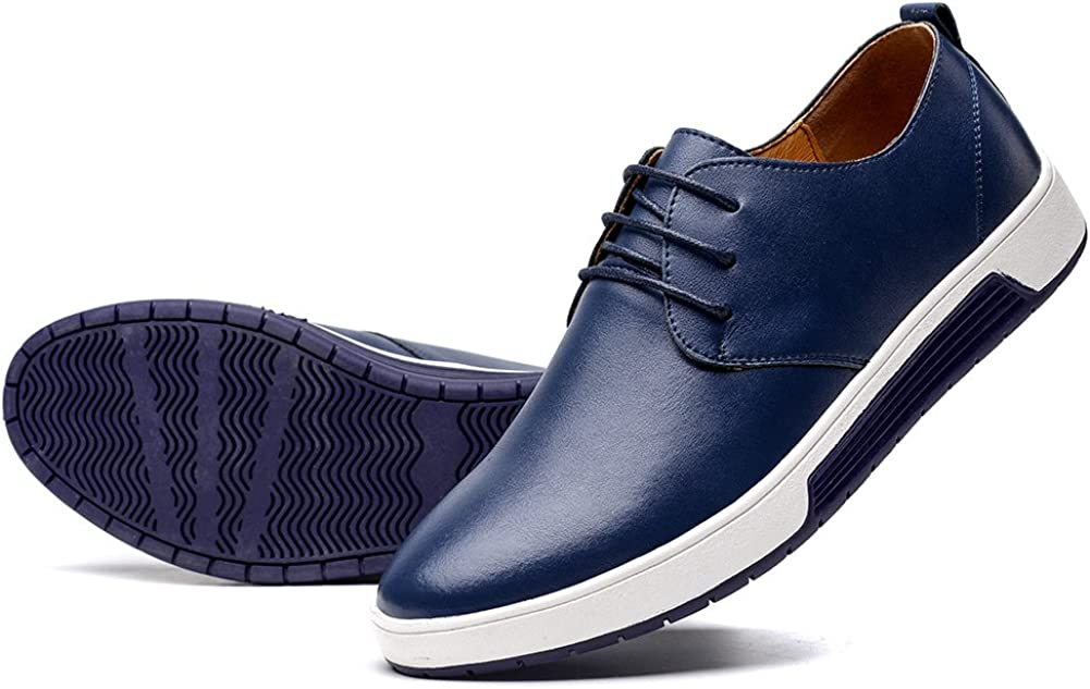 konhill Men's Super Special SALE held Casual Oxford Shoes Dress Breathable security Loafe -