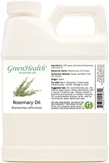 Rosemary – 16 fl oz (473 ml) Plastic Jug w/Cap – 100% Pure Essential Oil – GreenHealth