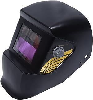 TOOGOO(R) - Máscara para soldadura, TIG y MIG, oscurecimiento automático,