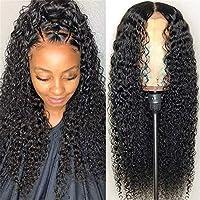 ヨーロッパとアメリカのウィッグの女性の中点黒の長い巻き毛の髪のアフリカの小容量化学繊維高温シルクローズメッシュヘッドギーかつら