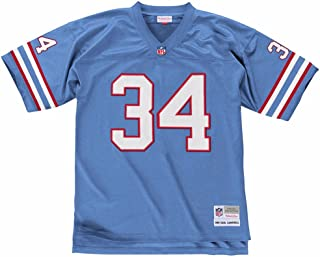 Mitchell & Ness Earl Campbell Houston Oilers Throwback Premier Jersey - Blue