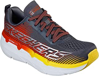 Skechers Women's Max Cushioning Premier Express Cross Training Grey/Orange 9
