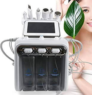 6-in-1 waterstof, zuurstof, schoonheidsmachine, hydro-plooimachine, H2-O2, water, peeling apparaat, reiniging, hydro derma...
