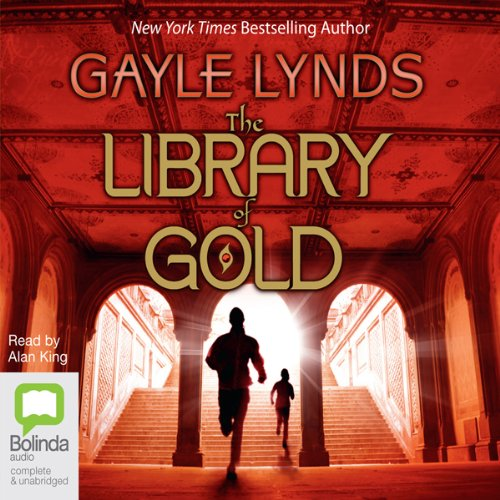 Library of Gold audiobook cover art