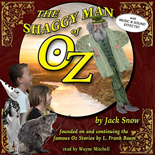The Shaggy Man of Oz audiobook cover art