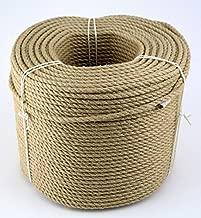 multiusos Utility Sisal Twine Cuerda C/á/ñamo Cuerda Cuerda 6/mm de grosor y fuerte de cuerda de yute aqyaa03000 mascotas cuerda de escalada tauziehen Jard/ín Boot conducci/ón camping Cuerda