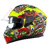 CHALLENGER Street Helmet Fidlock CRANK hi-viz S (55/56 cm)