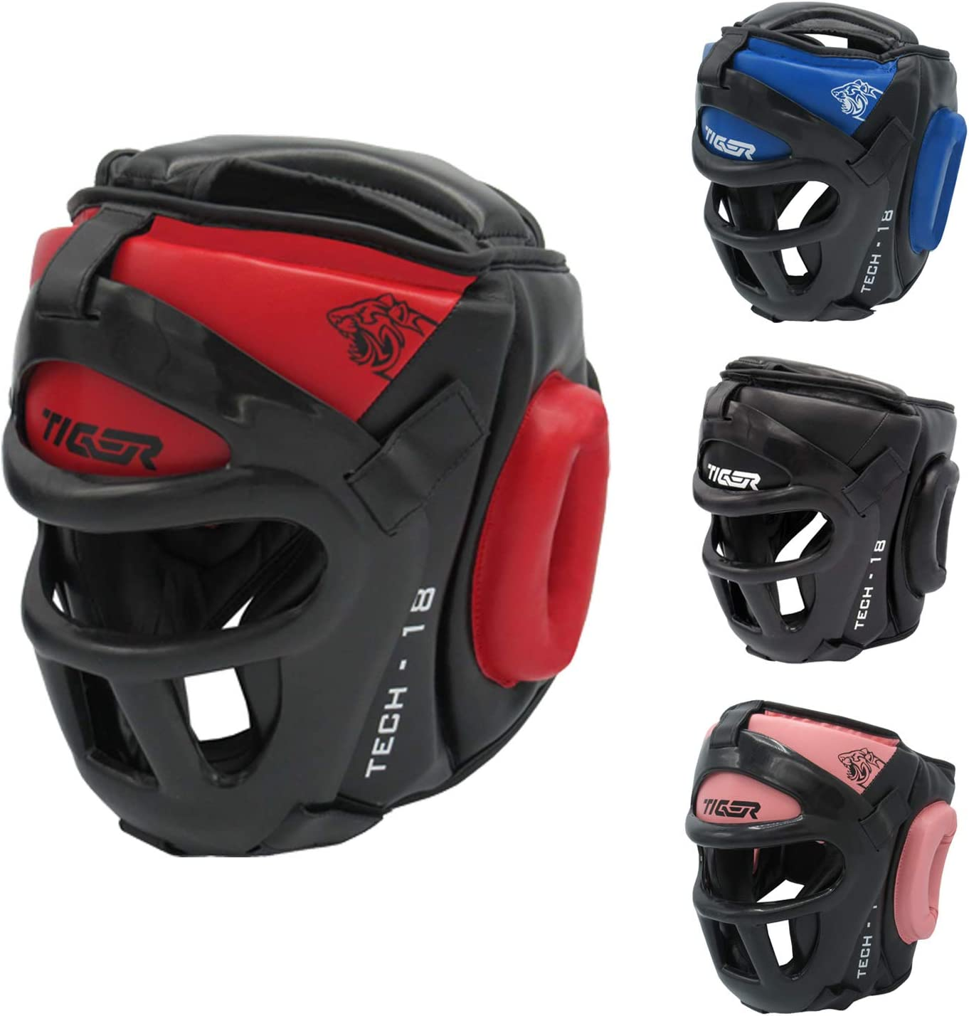 FBT HEAD GUARD for MMA MUAY THAI BOXING //MARTIAL ART FULL FACE IFMA APPROVED