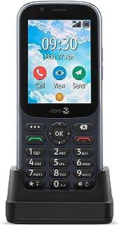 Doro 731X olåst 4G Dual SIM -mobiltelefon för seniorer Enkel att använda med GPS, Facebook och Whatsapp för videosamtal (G...