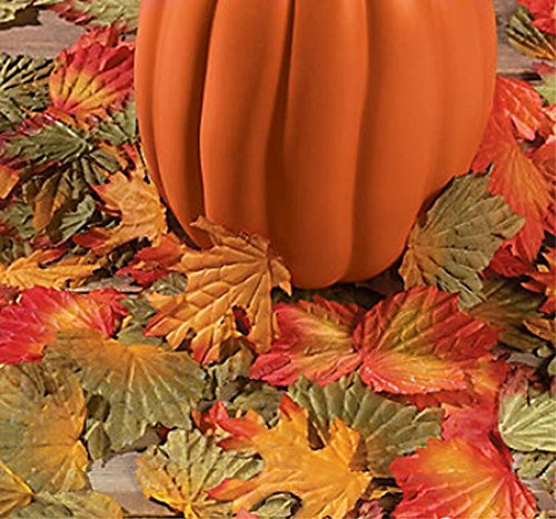 1000 Fall Leaves Autumn Wedding Party Decor Lot Table Aisle Decoration Craft