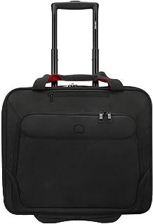Delsey Business Trolley Bag for Unisex, Black