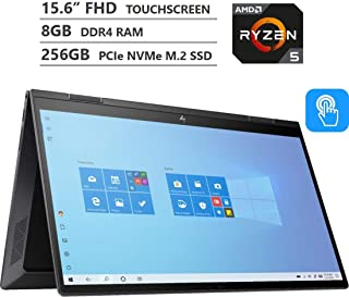 Newest HP Envy x360 2-in-1 Laptop, 15.6 inches FHD Touchscreen, AMD Ryzen 5 4500U Processor up to 4.0GHz, 8GB RAM, 256GB P...