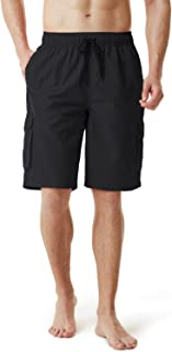 TESLA Men's 6 Inches/11 Inches Swimtrunks Quick Dry Water Beach MSB