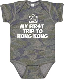 My First Trip to Hong Kong - Baby Bodysuit