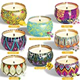 8 candele profumate decorative