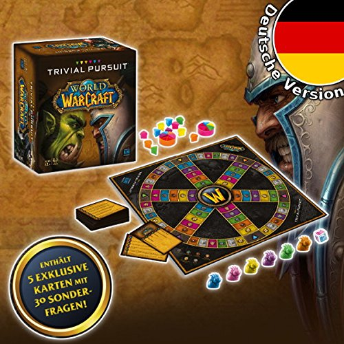 Winning Moves Trivial Pursuit World of Warcraft Wow inkl. 30 extra Fragen deutsch Gesellschaftsspiel Spiel Quiz