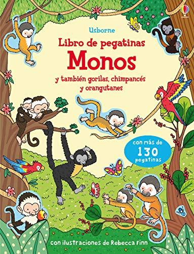Monos. Libro De Pegatinas