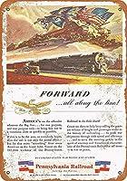 1943ペンシルベニア鉄道、国家グッズ壁アートを提供