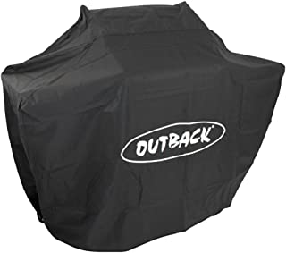 Outback OUT370670 BBQ Cover, Black