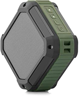 CRDC S100C Square 20-pin Button Portable Wireless Bluetooth Speaker Waterproof for iPhone, Samsung