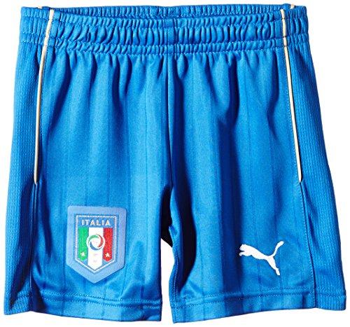 PUMA Kinder Hose FIGC Italia Away Shorts Replica, Team Power Blue/White, 128