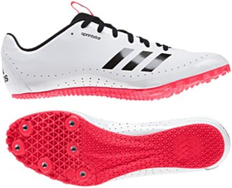 Sports Innovation Ltd Sprintstar Running Spikes - White Black Red