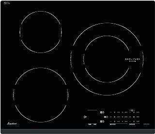 Sauter SPI4362B - Plaque à induction - Encastrable - 3 Foyers - 7200W - L60 x P52cm - Revêtement verre - Noir - Fabricatio...