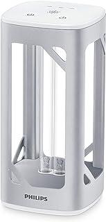 Philips Lámpara de mesa desinfectante UV-C de aluminio, por luz ultravioleta, desinfección de virus y bacterias, gris metalizado [Amazon Exclusive]