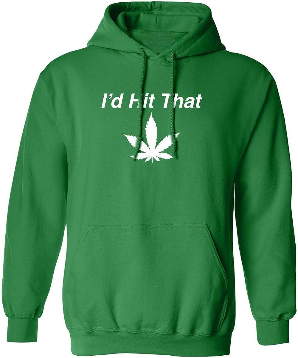 I'd Hit That Adult Hooded Sweatshirt