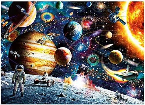 Bgraamiens Space Puzzle 1000 Pieces Jigsaw Puzzle for Kids Adults