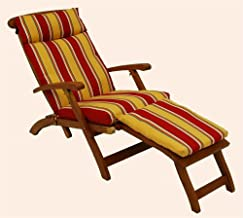 Blazing Needle Designs Cushion for Steamer Deck Lounger (Eastbay Onyx)