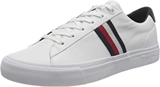 Tommy Hilfiger Corporate Leather Sneaker, Pelle Uomo