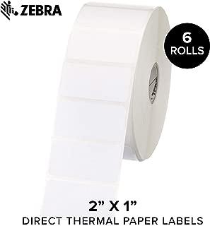 zebra label top