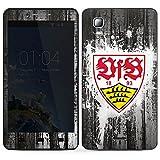 DeinDesign Kazam Trooper 2 6.0 Folie Skin Sticker aus Vinyl-Folie Aufkleber VfB Stuttgart Fanartikel B&esliga Fußball