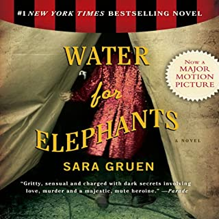 Water for Elephants                   By:                                                                                                                                 Sara Gruen                               Narrated by:                                                                                                                                 David LeDoux,                                                                                        John Randolph Jones                      Length: 11 hrs and 26 mins     20,378 ratings     Overall 4.4